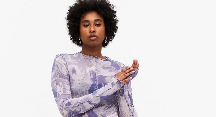 19 Printed Mesh Dresses and Sheer Tops to Channel Your Inner Style Rebel This Spring