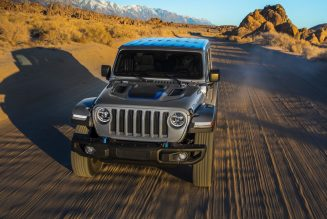 2021 Jeep Wrangler 4xe Plug-In Hybrid Official MPG: The Diesel Beats It