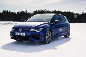 2022 VW Golf R First Drive on Ice (Sort of): That Thing It Do