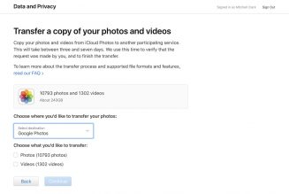 Apple now lets you automatically transfer your iCloud Photo Library to Google Photos