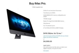 Apple Store lists iMac Pro base model as available 'while supplies last,' hinting it's being discontinued