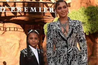 Blue Ivy Carter Celebrated Her Grammy Win By Turning Award Into a Sippy Cup