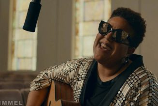 """Brittany Howard Performs """"Short and Sweet"""" on Kimmel While Michelle Obama Looks On: Watch"""
