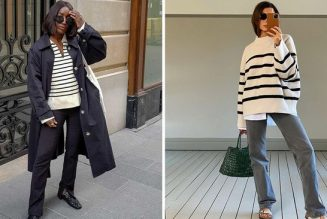 Fashion Experts Are Suddenly Back Into Breton Tops—These 22 Outfits Prove It