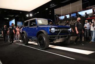 First 2021 Ford Bronco, VIN 001, Sells for Over $1 Million