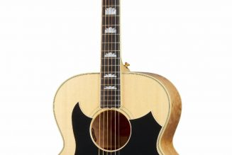Gibson Unveils Tom Petty SJ-200 Wildflower Acoustic Guitar