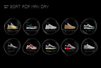 GOAT Is Restocking 10 Rare Air Max Sneakers For Nike Air Max Day