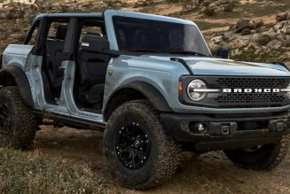 How Do You Remove the 2021 Ford Bronco's Fenders?