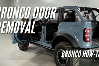 How Do You Remove the Ford Bronco's Doors?