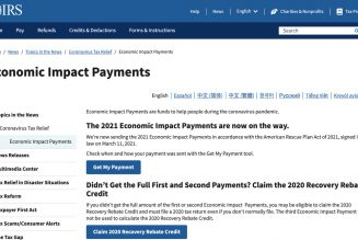 How tofind out if you're getting the third stimulus payment