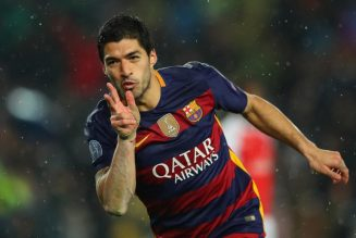 Luis Suarez's best moments as he hits 500 goals