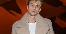 Machine Gun Kelly Visits His Drummer in the Hospital After He's Attacked, Robbed & Hit by Car