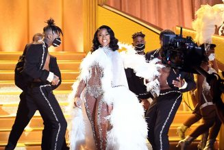 Megan Thee Stallion Thanks Haters for Pushing Her All the Way to the Grammys
