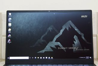MSI Summit B15 review: average business