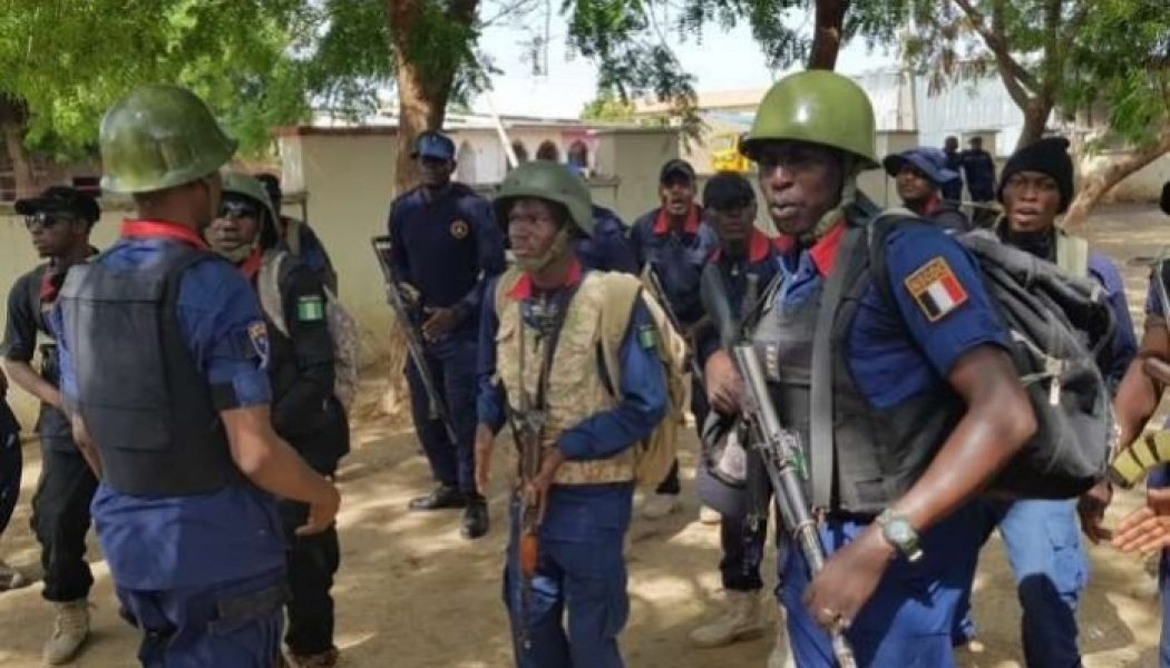 NSCDC arrests 16 for 'illegal' oil bunkering