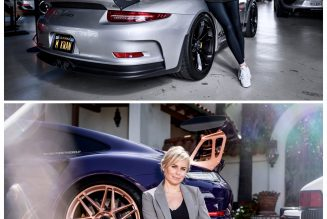 Portraits of Women and Their Porsches