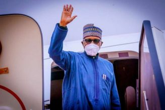 President Buhari departs Abuja for London