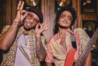 "Song of the Week: Bruno Mars and Anderson .Paak Play It Smooth as Silk Sonic on ""Leave the Door Open"""