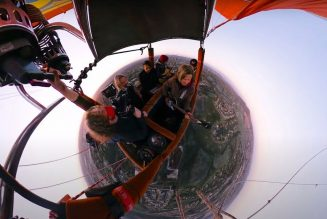 Switchfoot Play Livestream Concert While Riding in a Hot-Air Balloon: Watch