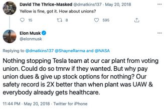 Tesla has to tell Elon Musk to delete a 2018 tweet, labor board rules