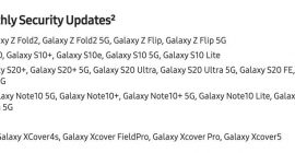 The Samsung Galaxy A52 5G will get monthly security updates