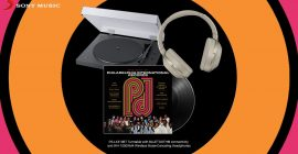 Win The Best of Philadelphia International Records Prize Pack with Vinyl, Turntable, Headphones