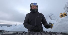"""Yotto Presents """"A Very Cold DJ Set"""" from Lapland's Frosted Hills"""