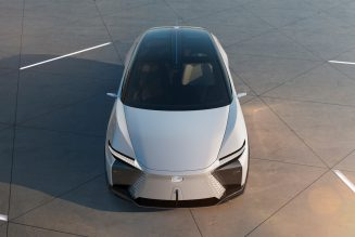 You're Living in 2021, the New Lexus LF-Z Electrified Concept Is Living in 2025