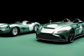 2021 Aston Martin V12 Speedster Buyers Can and Should Get the Special DBR1 Package