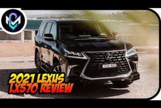 2021 Lexus LX570 Review: Overdressed for Off-Roading