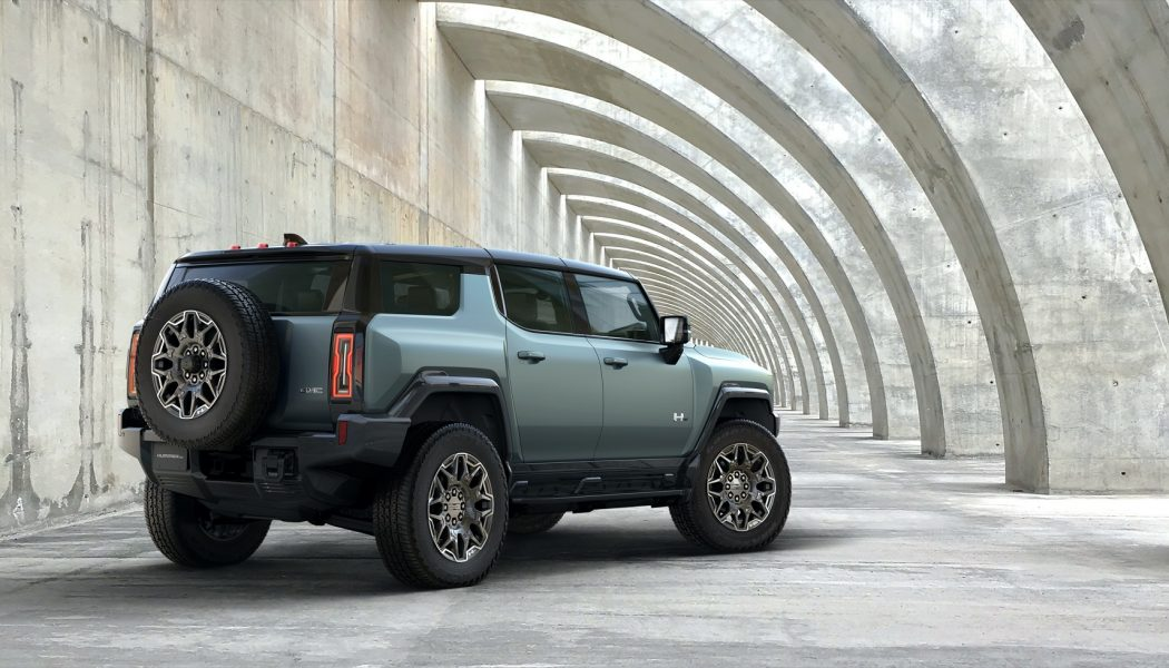 2024 GMC Hummer EV SUV First Look: GM's Electric Motor Pool Grows