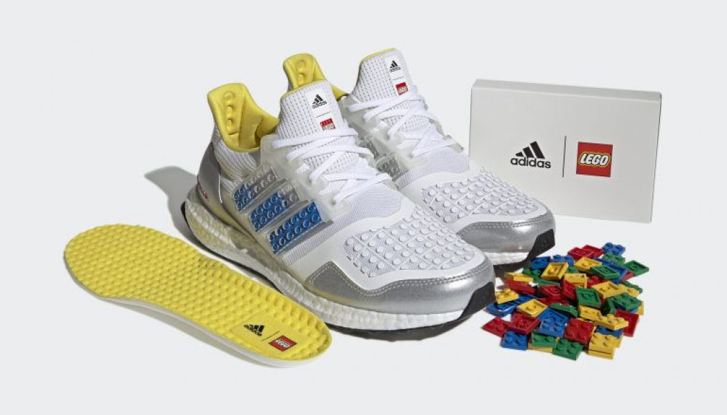 Adidas' new kicks can be customized with Lego bricks