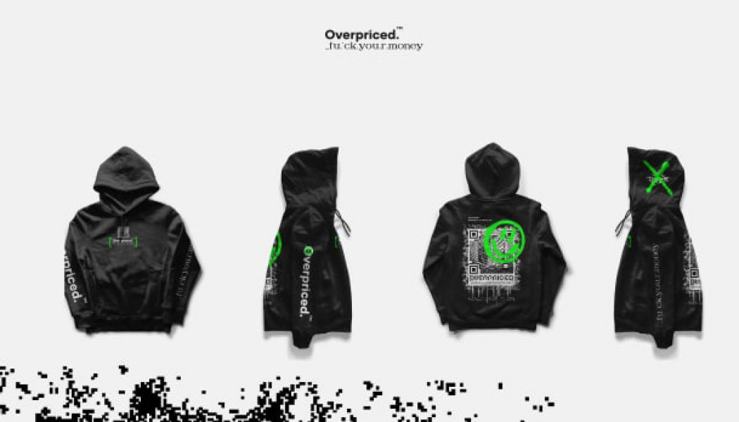 "Adventure Club's Leighton James and Impossible Brief Launch NFT Clothing Brand, ""Overpriced."" [Exclusive]"