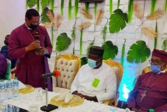 Anglican Primate expresses confidence in Enugu governor's leadership qualities