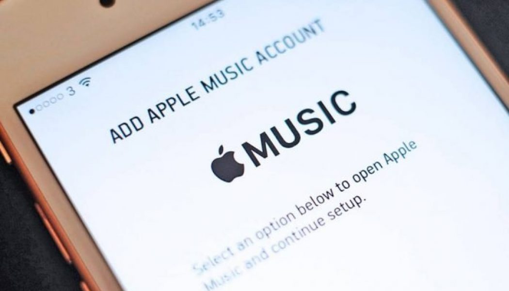 Apple Music pays one penny per stream