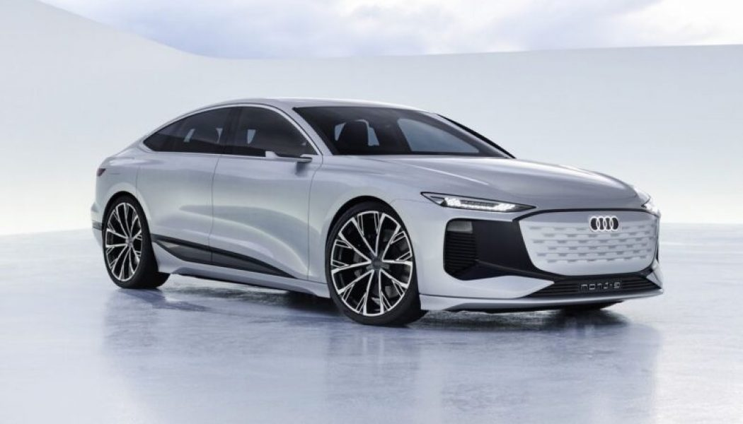 Audi teases the future of its electric sedans with the A6 E-Tron concept