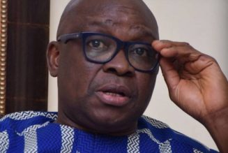 Ayo Fayose: Ex-President Obasanjo sent Bode George to jail because of PDP national chairmanship position