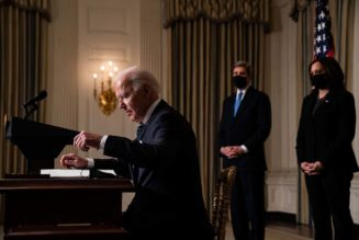 Biden readies ambitious pitch to make the U.S. the global climate leader