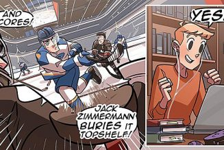 Check, Please is the feel-good queer hockey / baking comic you didn't know you needed