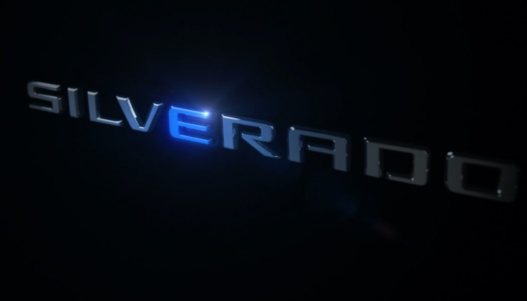 Chevy's Silverado Electric Truck to Share Assembly Line With Hummer EVs