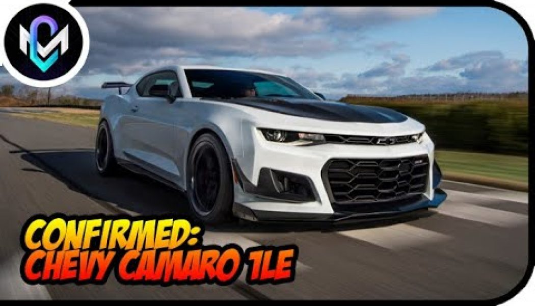 Confirmed: Chevy Camaro 1LE Handling Package Dead for Models Without V-8