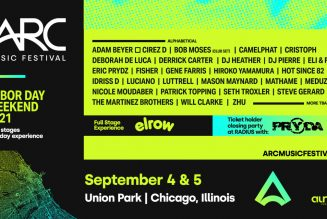 Eric Prydz is Performing Three Sets Under Different Aliases at Chicago's Debut ARC Music Festival