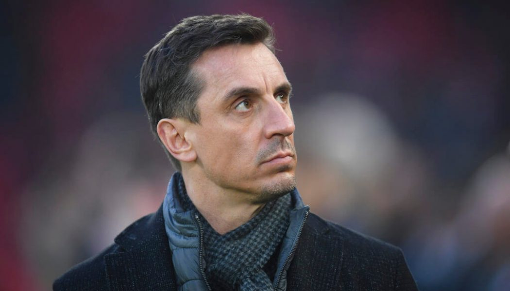 Gary Neville sends Super League message to Leeds players ahead of Liverpool clash