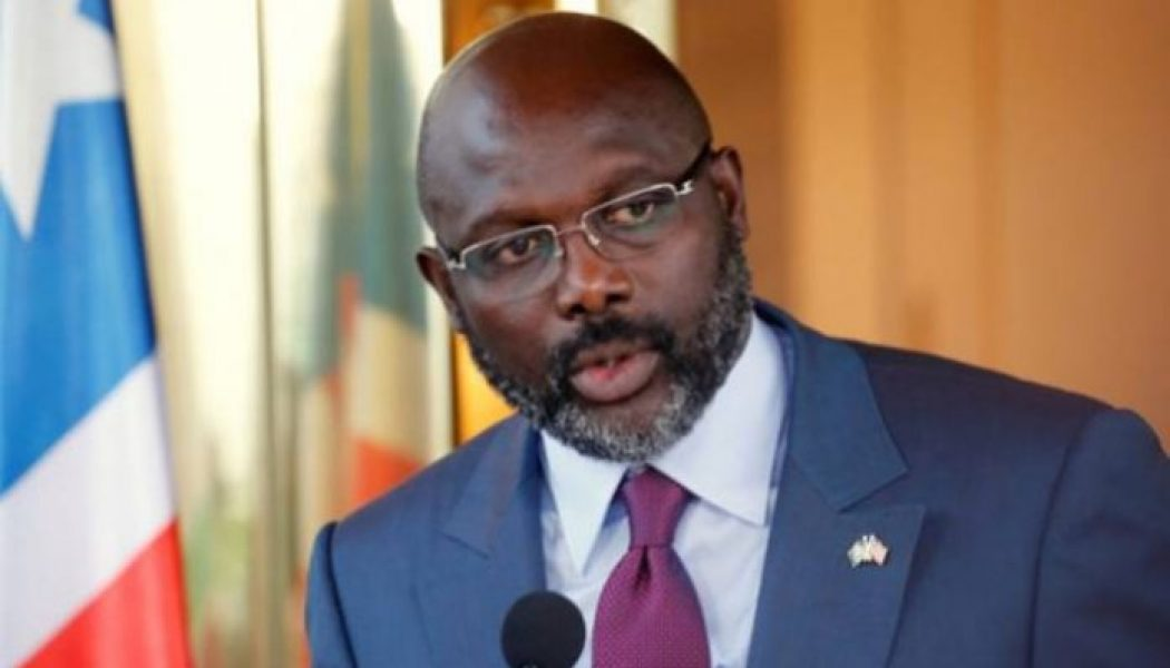 George Weah wants Liberia to host AFCON