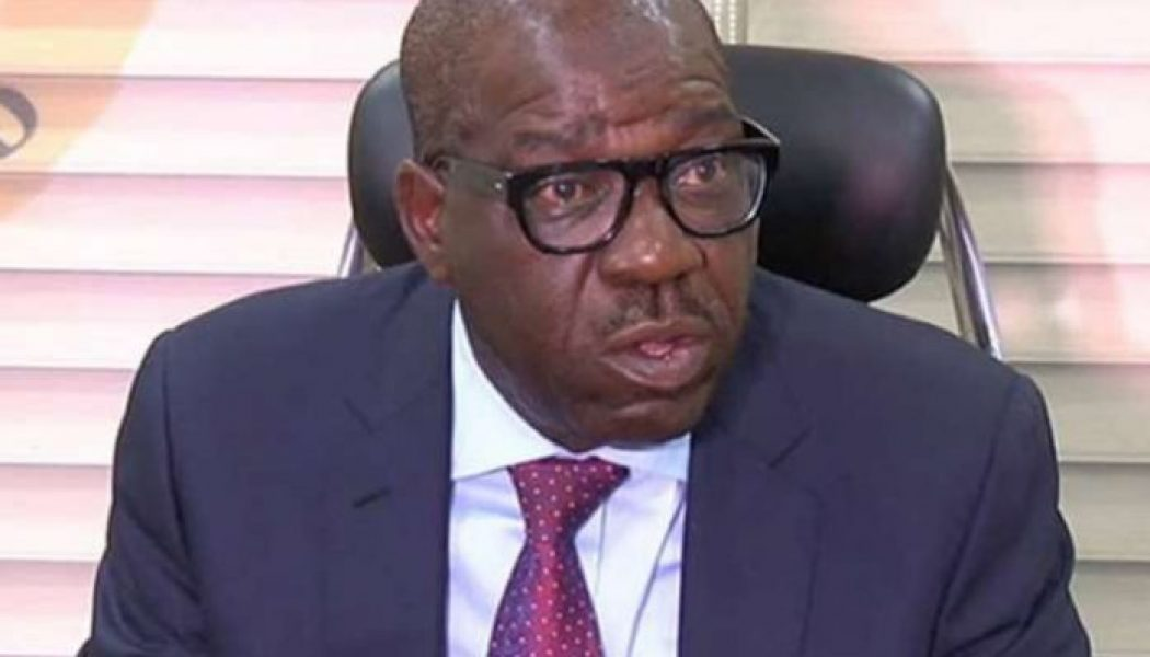 Governor Obaseki lauds President Buhari on appointment of Adolphus Aghughu as auditor general