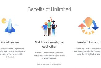 In an about-face, Xfinity Mobile will offer discounts on additional unlimited plan lines