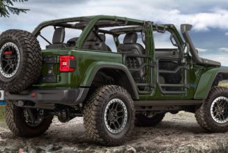 Jeep Wrangler 4xe PHEV Gets 2.0-Inch Lift Kit and More From JPP