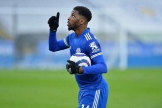 Kelechi Iheanacho wins Leicester City's Goal of the Month for March