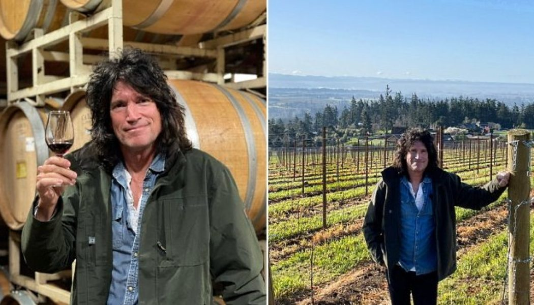 KISS Guitarist TOMMY THAYER Is Getting Into Wine Business
