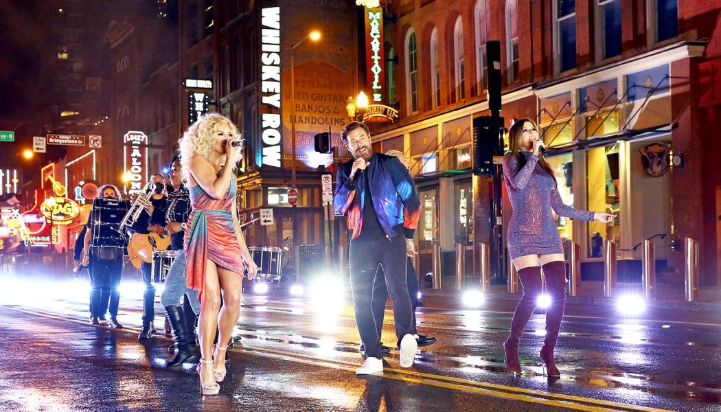 Little Big Town, Minus One Member, Hits the Nashville Streets For 'Wine, Beer, Whiskey' at the 2021 ACM Awards